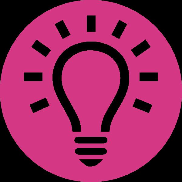 Lightbulb for idea